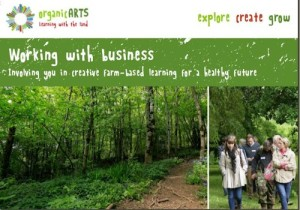 working  with oragnicarts and business